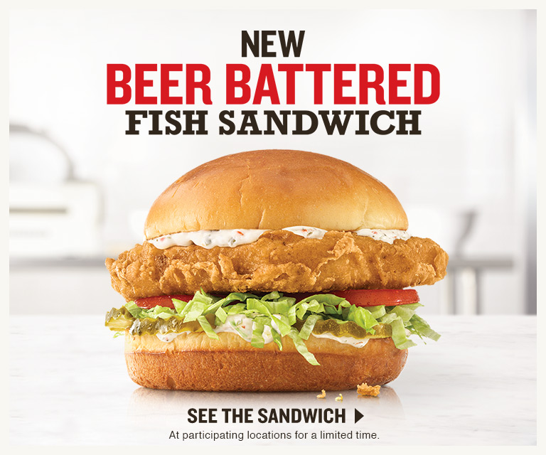 New Beer Battered Fish Sandwich